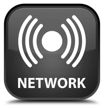 wlan: Network (signal icon) black square button