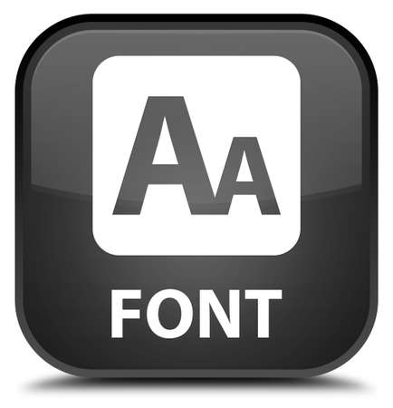 preview: Font black square button