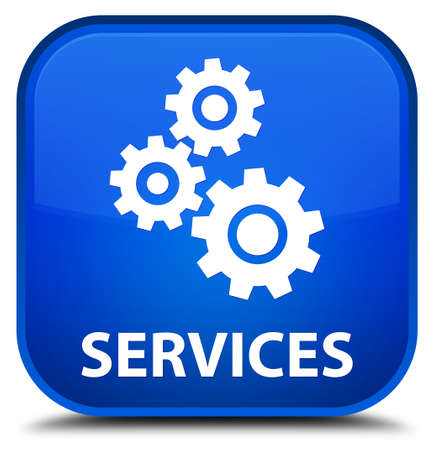 preference: Services (gears icon) blue square button