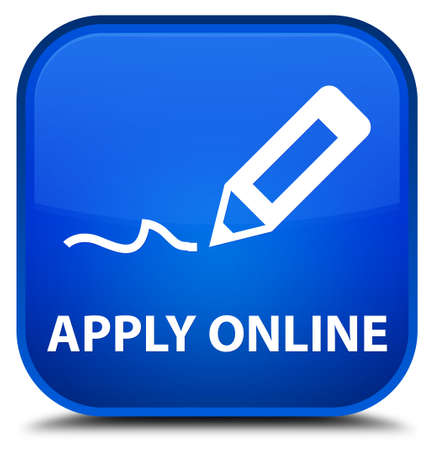 apply: Apply online (edit pen icon) blue square button