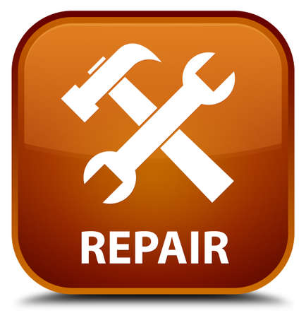 preference: Repair (tools icon) brown square button