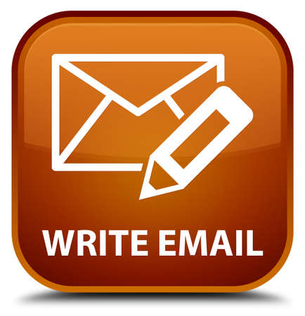 flysheet: Write email brown square button