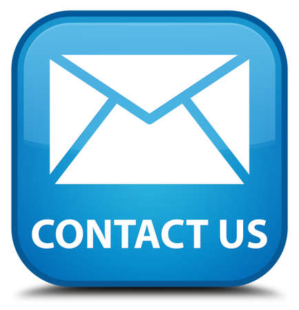 flysheet: Contact us (email icon) cyan blue square button