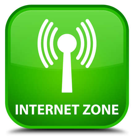 wlan: Internet zone (wlan network) green square button