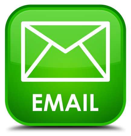 email: Email green square button