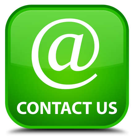 flysheet: Contact us (email address icon) green square button