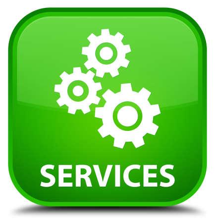 preference: Services (gears icon) green square button