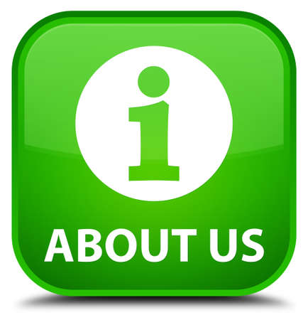 about us: About us green square button