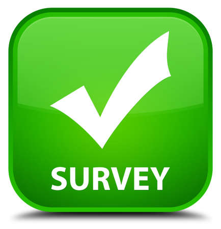 validation: Survey (validate icon) green square button