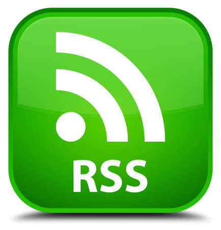 RSS green square button