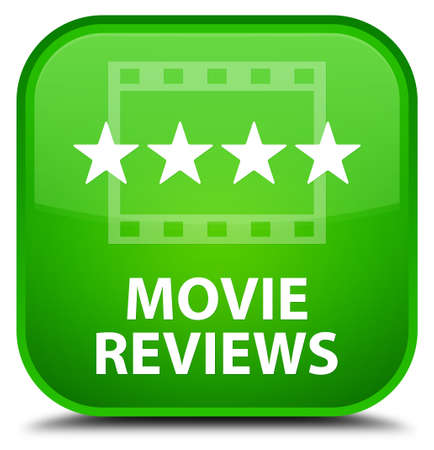 reviews: Movie reviews green square button
