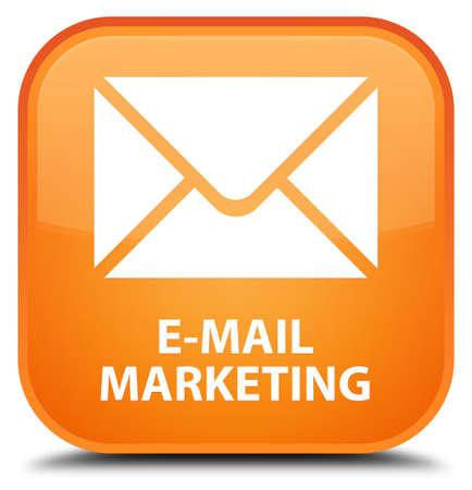 envelop: E-mail marketing orange square button
