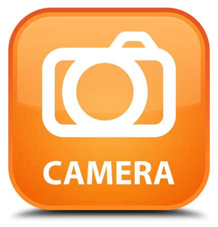 digital slr: Camera orange square button