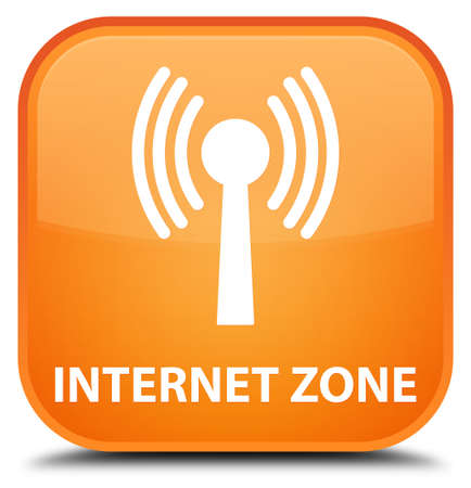 wlan: Internet zone (wlan network) orange square button