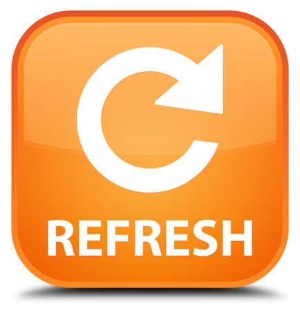rotate: Refresh (rotate arrow icon) orange square button