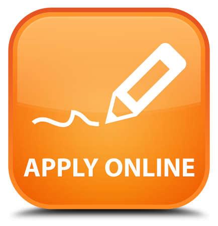 registry: Apply online (edit pen icon) orange square button