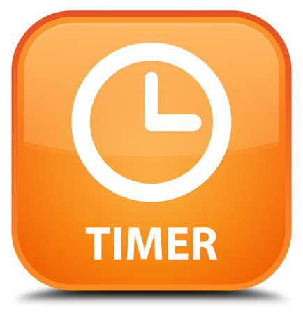 timer: Timer orange square button