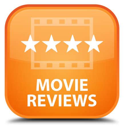 reviews: Movie reviews orange square button