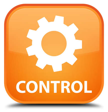 preference: Control (settings icon) orange square button