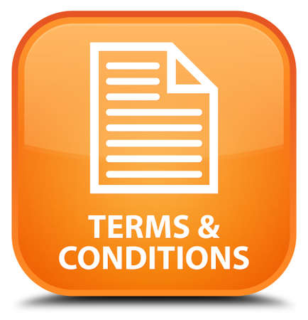 terms: Terms and conditions (page icon) orange square button