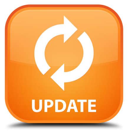 update: Update orange square button