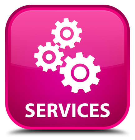 preference: Services (gears icon) pink square button