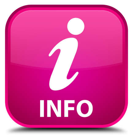 inquiry: Info pink square button