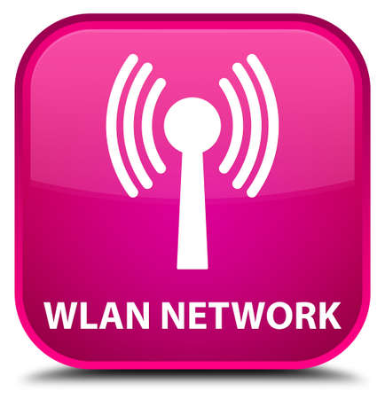 wlan: Wlan network pink square button