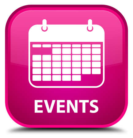 current events: Events (calendar icon) pink square button