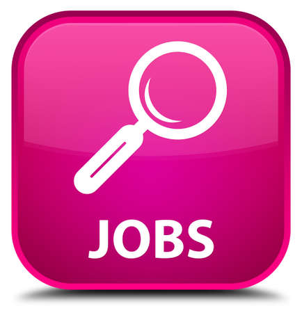 jobs: Jobs pink square button