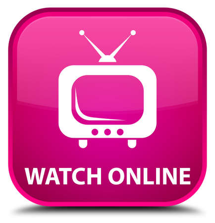 live entertainment: Watch online pink square button