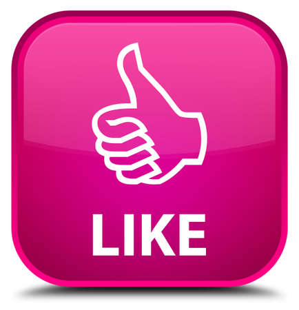 thumbsup: Like pink square button