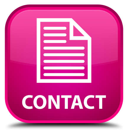 contact page: Contact (page icon) pink square button