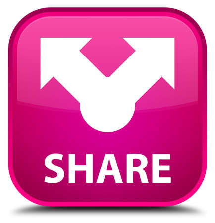 square button: Share pink square button