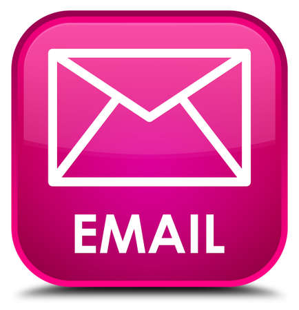envelop: Email pink square button