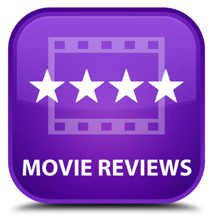 reviews: Movie reviews purple square button