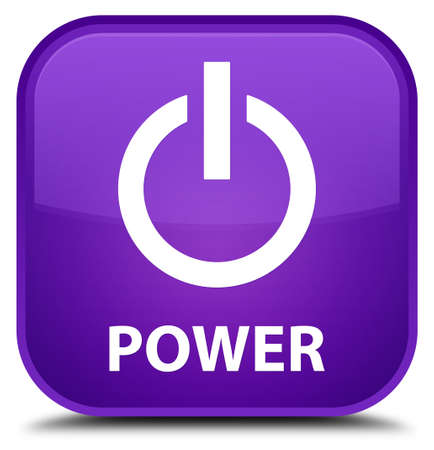 turn up: Power purple square button