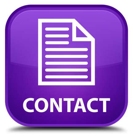contact page: Contact (page icon) purple square button