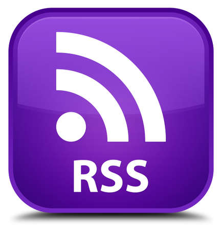 rss: RSS purple square button