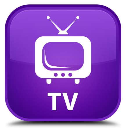 square button: TV purple square button