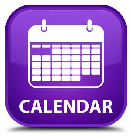 square button: Calendar purple square button