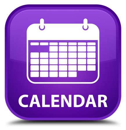 appointments: Calendar purple square button