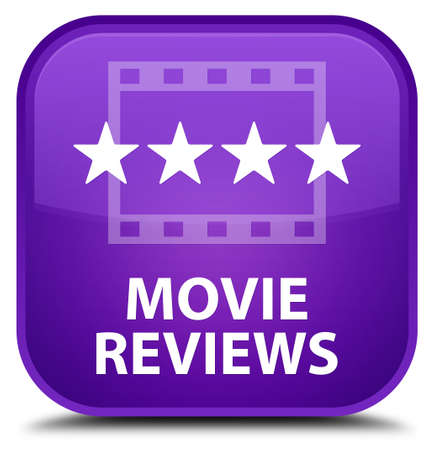 opinions: Movie reviews purple square button
