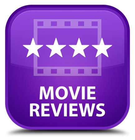 reviews: Movie reviews purple square button