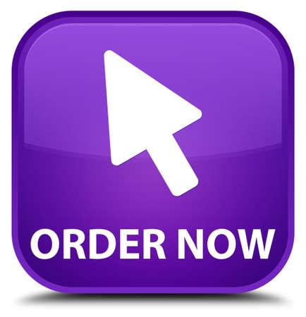 in order: Order now (cursor icon) purple square button