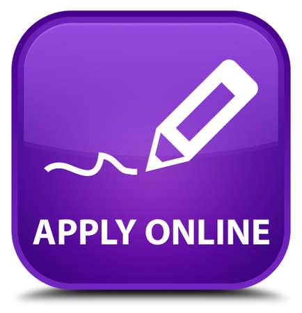 registry: Apply online (edit pen icon) purple square button