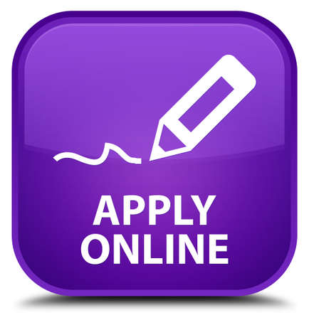 apply: Apply online (edit pen icon) purple square button