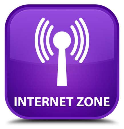 wlan: Internet zone (wlan network) purple square button