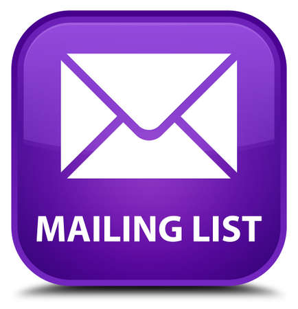 flysheet: Mailing list purple square button