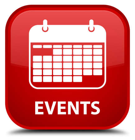 current events: Events (calendar icon) red square button